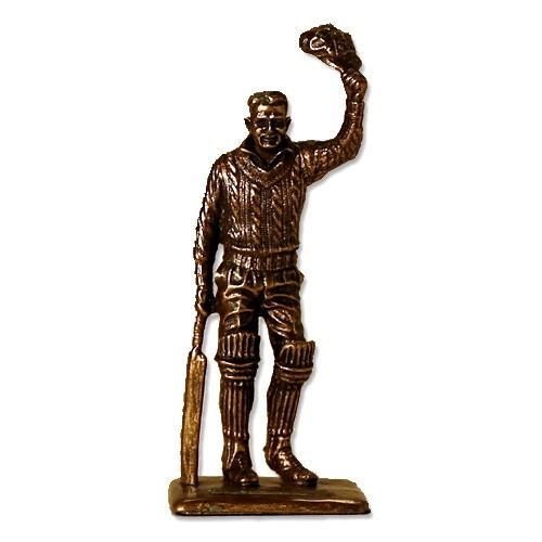 Bronze Bradman Final Salute Statue (small)