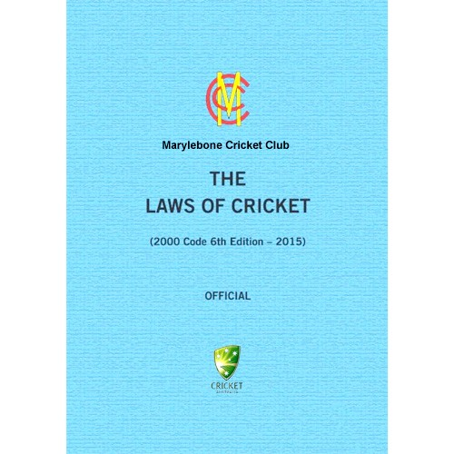 The Laws of Cricket - 6th Edition - BOOK