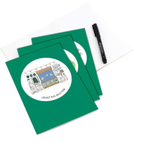 Squidinki - 3 x A5 Notebooks