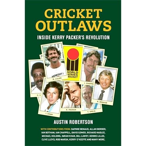 Cricket Outlaws - BOOK