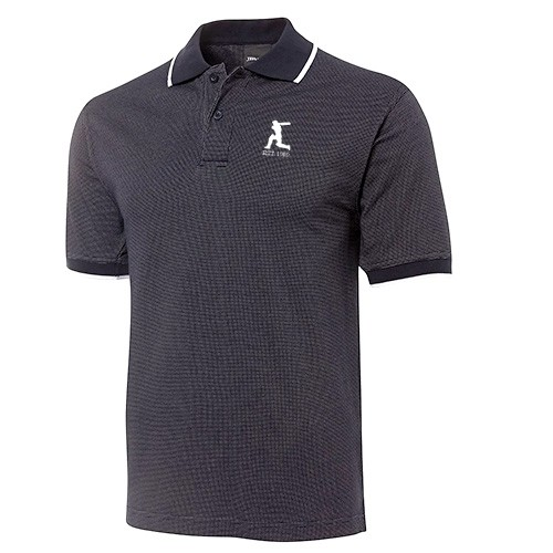 EST 1989 Black Polo Shirt
