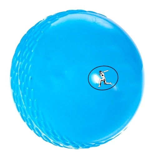 Blue Plastic  Soft Ball with seam