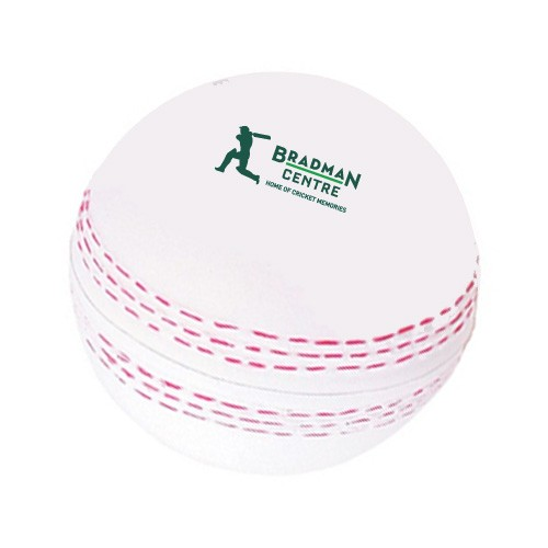 Cricket Stress Ball in White