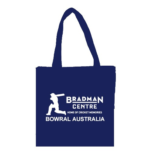 Bradman Centre Tote Bag - Blue