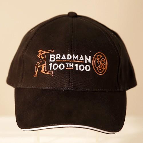 CAP - Bradman branded  100th 100
