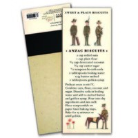 Red Tractor - Anzac Biscuit Magnetic Shopping List