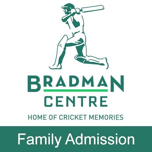 Bradman Museum - Family of 4 Admission