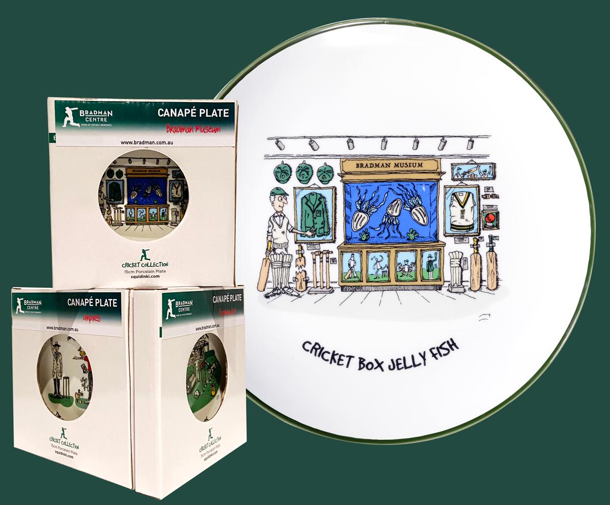 Squidinki - Cricket Box Jellyfish Canape Plate
