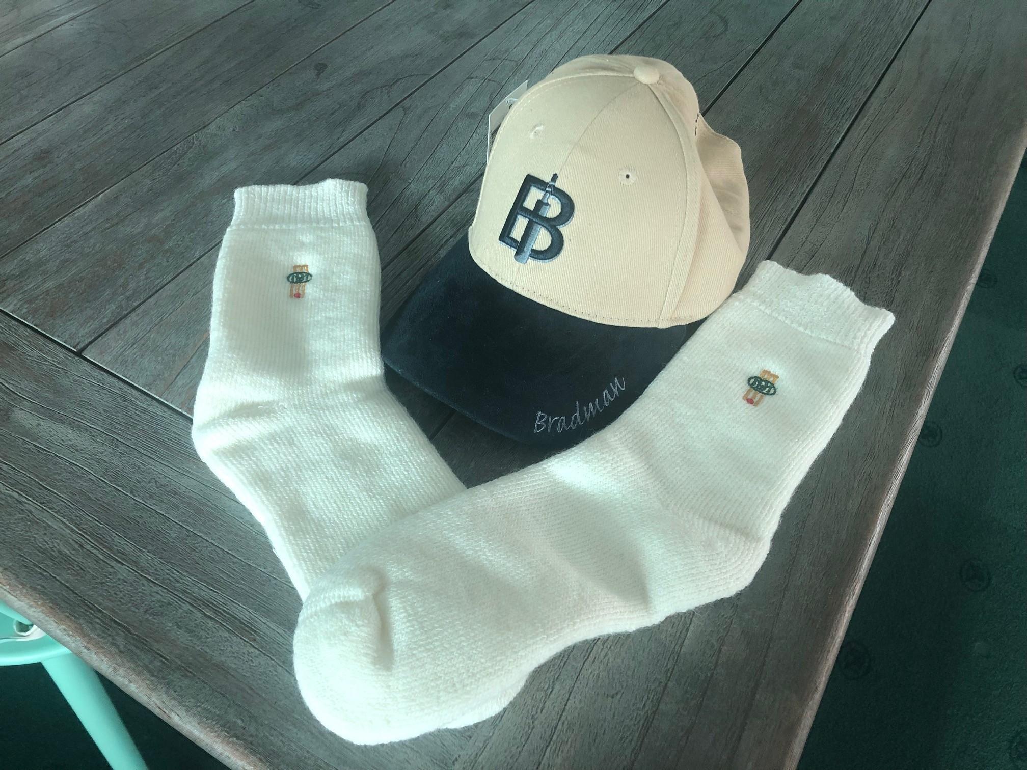 Bradman Cap & Socks