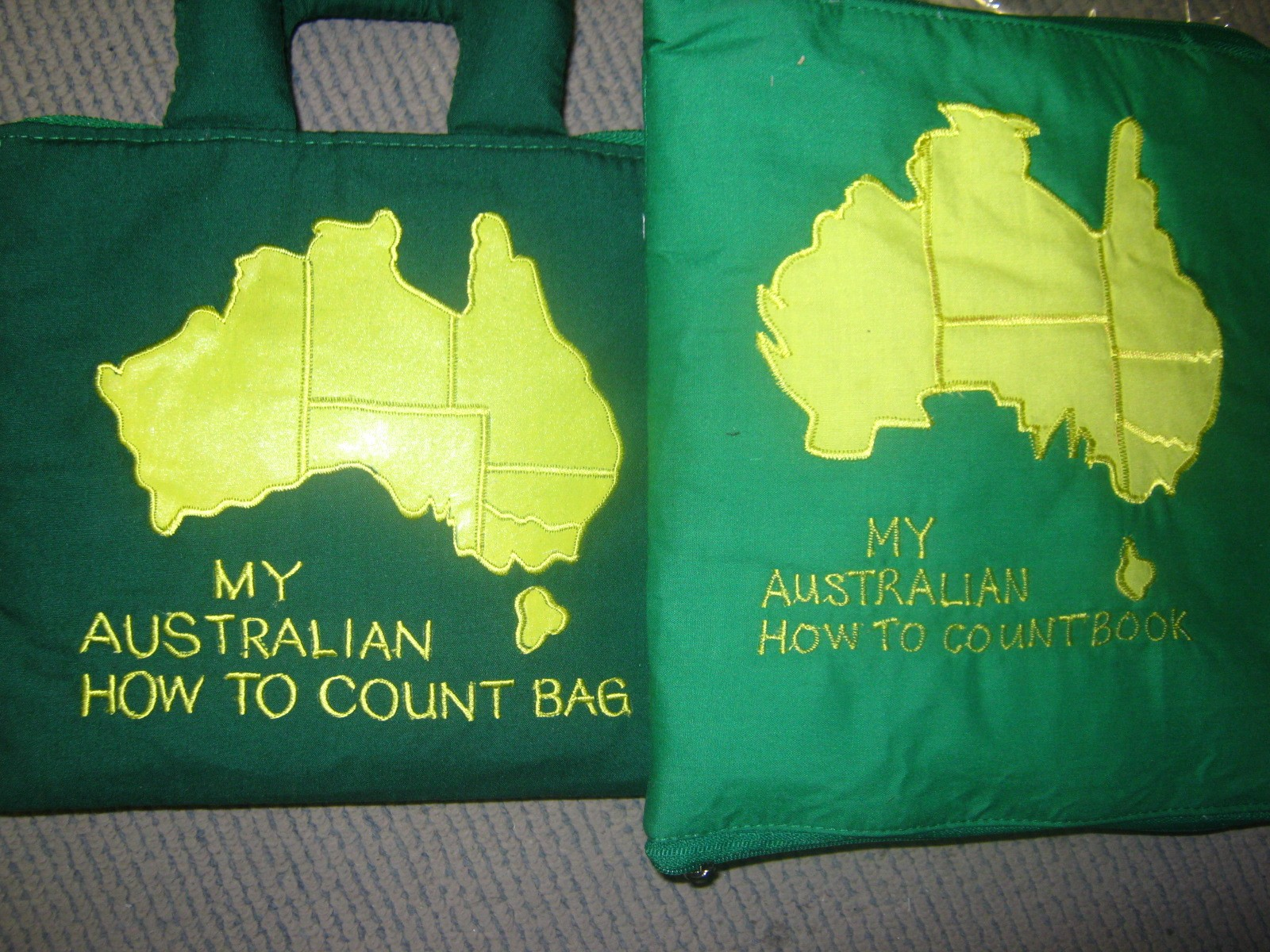 My Australian How to Count Bag