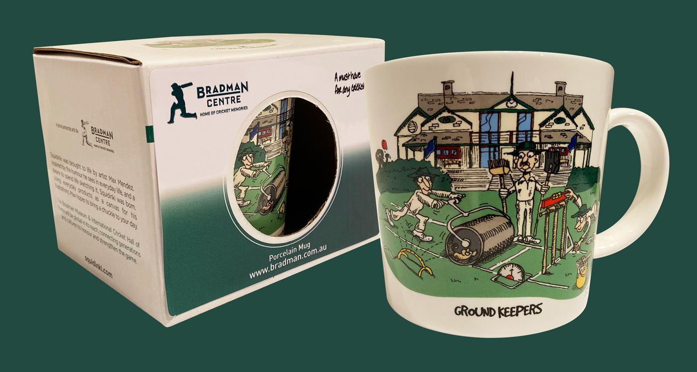 Squidinki Porcelain Mug - Ground Keepers image