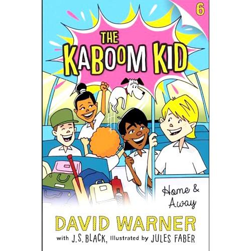 The Kaboom Kid - Home & Away - BOOK