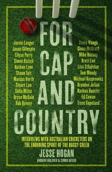 Jesse Hogan, Simon Auteri, Andrew Faulkner - For Cap and Country BOOK