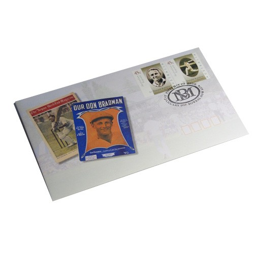 Bradman First Day Cover Stamps