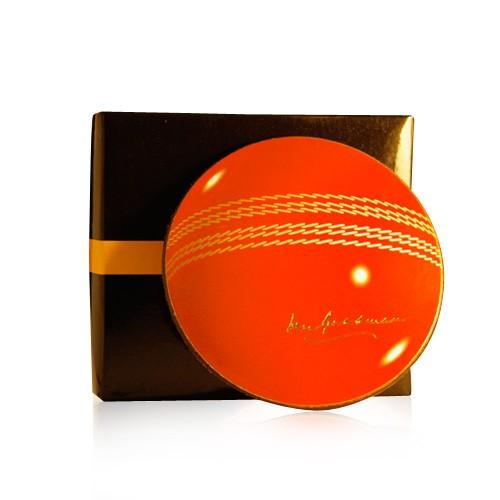 Cricket Ball Drink Coasters- Box of 6