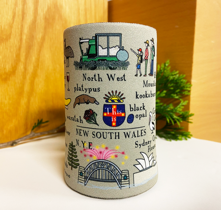 Red Tractor - This Is New South Wales Stubby Holder