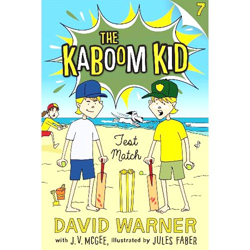The Kaboom Kid - Test Match - BOOK