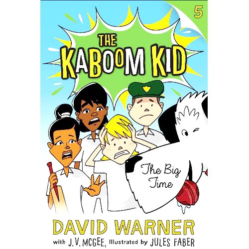 The Kaboom Kid - The Big Time - BOOK