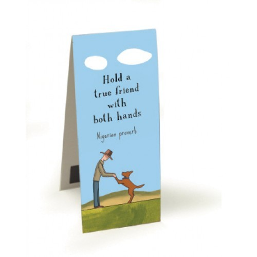 Red Tractor - Bookmark Magnetic - True Friends