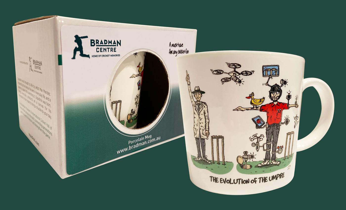 Squidinki Porcelain Mug - Evolution of the Umpire