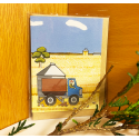 Red Tractor - Harvest Gift Card (with envelope)