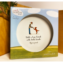 Red Tractor - 'True Friends' Small Ceramic Plate