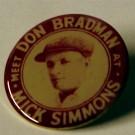 Authentic Replica Badges featuring Don Bradman