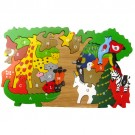 SRI Toys - Alphabet Animal Tree Puzzle