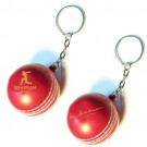 Soft Cricket Ball Keyring