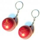 Soft Cricket Ball KEYRING
