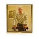 Sir Donald Bradman Portrait by Bill Leak (Framed)