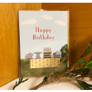 Red Tractor - Garden Party Gift Card (with envelope)