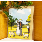 Red Tractor - A Bush Wedding (1) Gift Card (with envelope)