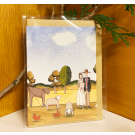 Red Tractor - A Bush Wedding (2) Gift Card (with envelope)