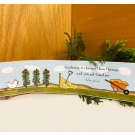 Red Tractor - Garden Therapy Bumper Sticker