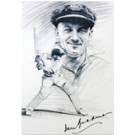 Writing Pad with Picture of Don Bradman